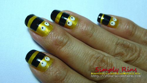 Nail Art Nailed by Bees 04