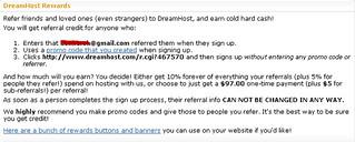 Dreamhost affiliate program