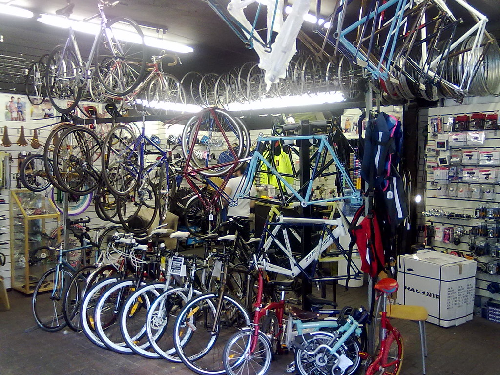 Fitzrovia Bicycles, New Cavendish Street, Fitzrovia