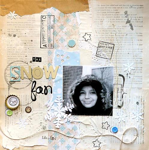the snow fan