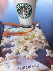 Starbucks popcorn