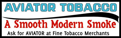 Aviator Tobacco faux ad