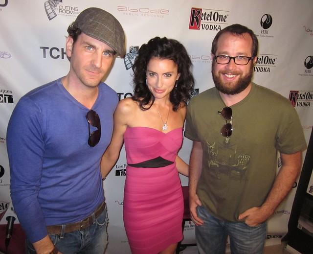 Aaron Abrams, Samantha Gutstadt,  RealTVfilms Social Media Lounge