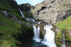 Cascata Kvernafoss Grundarfjörður Islândia