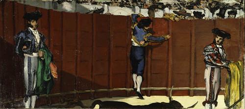 The Bullfight, Édouard Manet, 1864