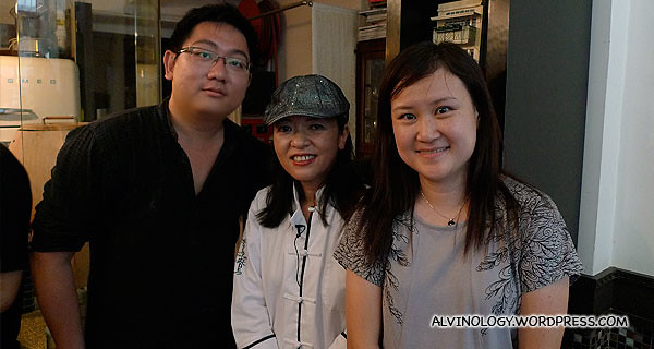 Me and Vivien with celebrity chef, Margaret Xu