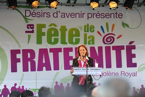 Ségolène Royal, le 18 septembre 2010 à Arcueil