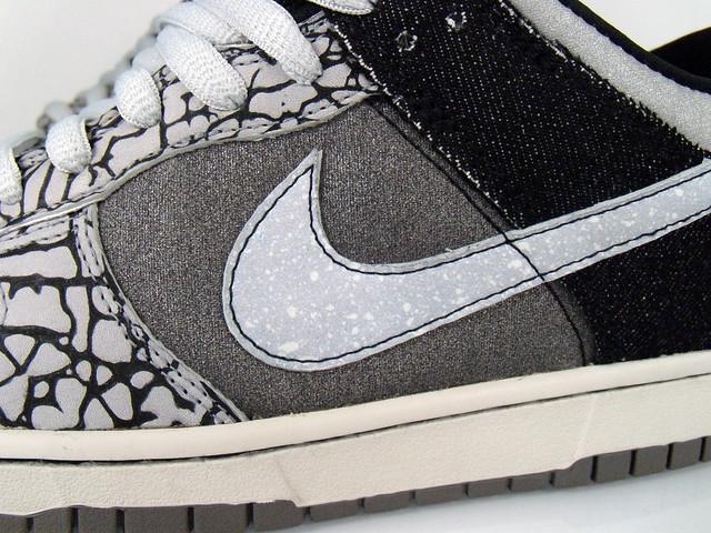 Black Gray Nike Dunk Lows