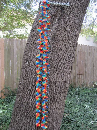 Kung Fu Knitting: Spiral Scarf ala Single Crochet