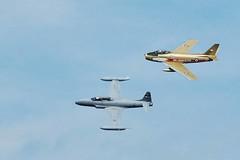 DSC_8078_463 (GRB_Ott) Tags: canada quebec aircraft military sabre gatineau caf silverstar 2010 rcaf goldenhawks canadair ct133 vintagewingsofcanada september2010 414squadron
