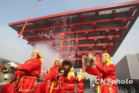 上海人舞照跳