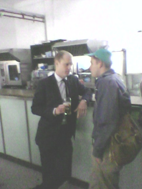 will and business man friend
