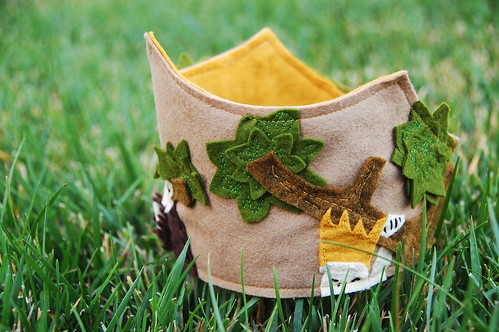 where the wild things are inspired crown