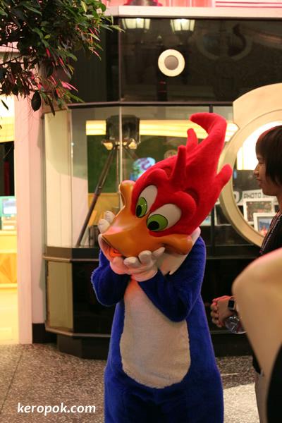 Woody Woodpecker @ Universal Studios Singapore