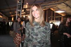 Carine Roitfeld (!!!) (Nine Inch Nilina) Tags: newyorkcity newyork army vogue img3579 lincolncenter fashionweek newyorkfashionweek ss11 frenchvogue armyprint vogueparis carineroitfeld vogueeditor