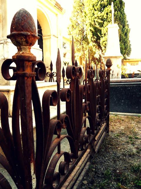 cementery fence