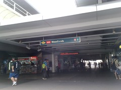 MRT Woodlands station