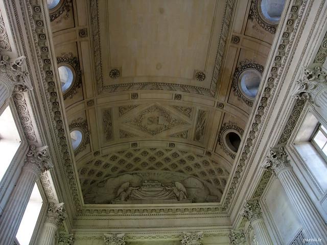 Plafond de la Chapelle Saint-Louis