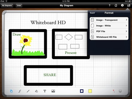 Whiteboard HD Update Makes iPad Brainstorming Easier
