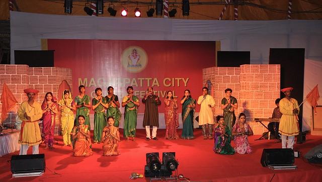 Marathi Cultural show at the Magarpatta City Ganesh Festival
