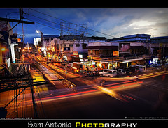 I traveled all the way to Iloilo City, Philippines with my tripod and all I came back with is this lousy photo! (Sam Antonio Photography) Tags: street city travel blue sunset red sky orange color art cars architecture night clouds island photography evening photo asia flickr downtown cityscape traffic dusk fineart tripod philippines colonial spanish malaysia creativecommons manila vehicle filipino lighttrails bluehour pinoy visayas iloilo philippine panay canon1022 flickrviews philippinetravel ilonggo hiligaynon iloilocity canon50d photolocation westernvisayas project365262 dinagyangfestival samantonio barangays wwwsamantoniophotographycom httptwittercomsamantoniophoto httpwwwfacebookcomsamantoniophotography moreflickrviews