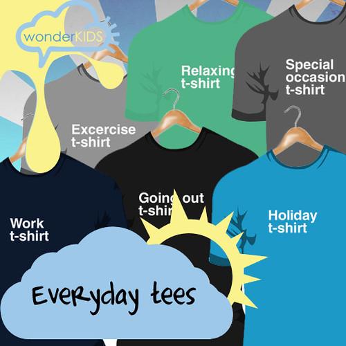 <(wonderkids)! everyday tees