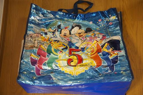 5周年の時の大きな買い物袋