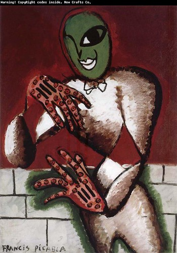 Picabia Francis, A Gloved Man