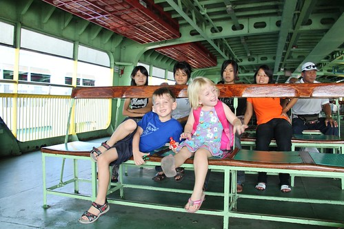The ferry to Butterworth
