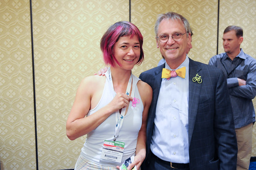 Earl Blumenauer at Interbike-1