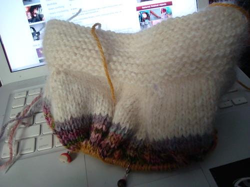 WIP Wednesday: telemark sweater