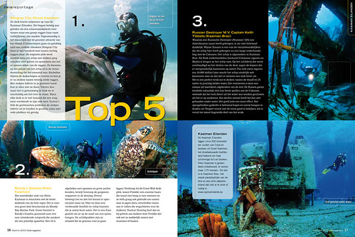 Cayman Aggressor for Duikmagazine, pages 5&6