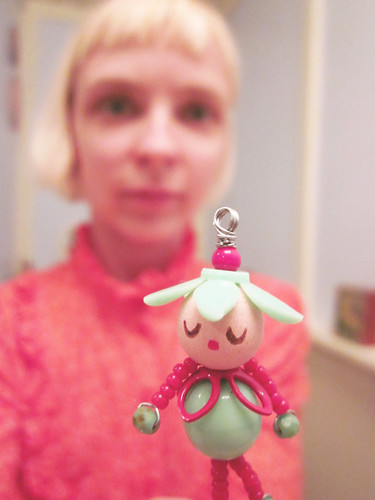 Little doll charm I got on Etsy -