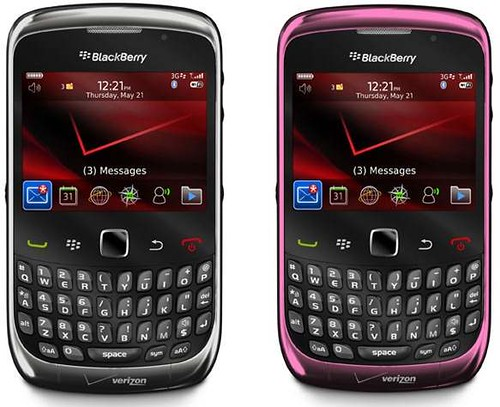 Verizon Wireless and RIM Launch New Model Of popular BlackBerry Curve 3G smartphone