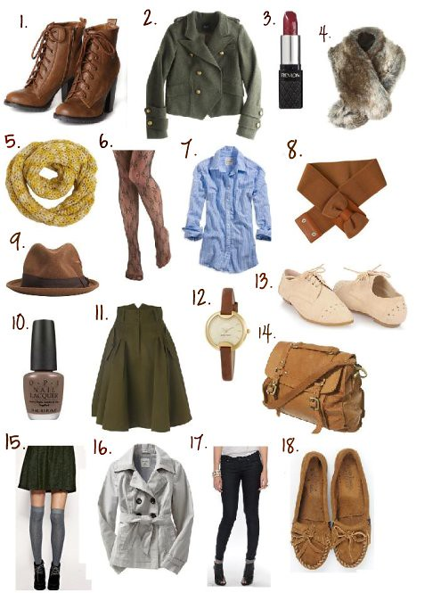 Fall '10 Must Haves