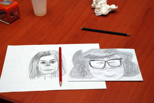 Caricature Workshop for Spire Research & Consulting - 37