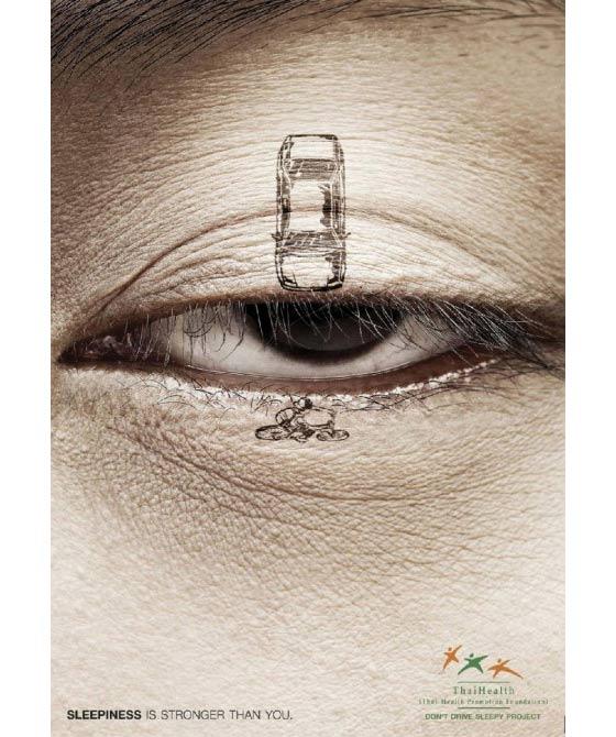 publicidad para conductores de autos