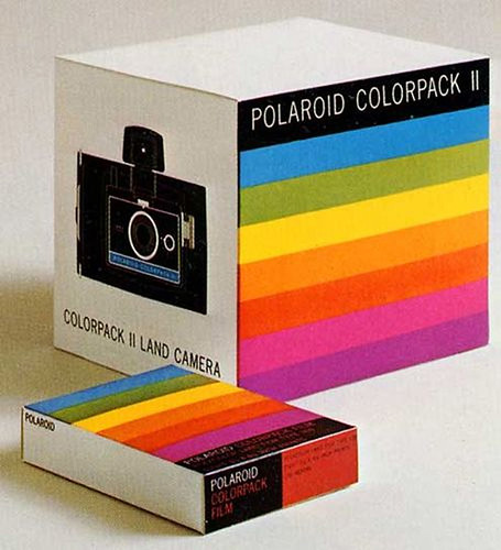 Polaroid ColorPack 2 / Paul Giambarba design