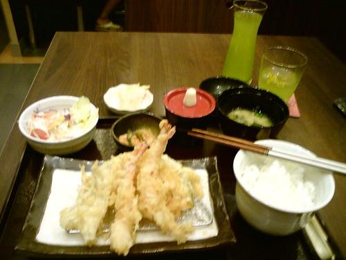 2010-09-11 普吉Yayoi 天婦羅套餐DSC01409