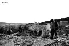 (nemenfoto) Tags: bw byn amor bin montaa frio mirador acantilado cuenca enamorados cascoantiguo