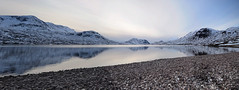 Lochan Fada ({jbremer}) Tags: uk winter lake mountains cold beach scotland highlands hiking loch gap4 lochanfada letterewewilderness fisherfieldsix