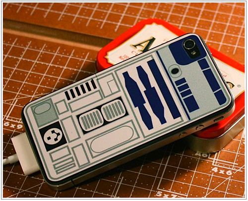 iPhone 4 Star Wars R2-D2 Sticker