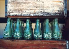 Return for Refund (prpljoy) Tags: antique cokebottles