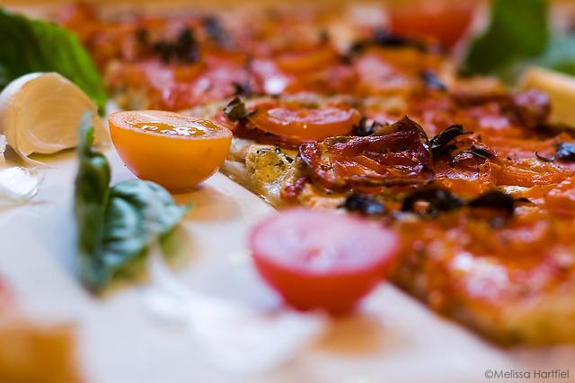 Tomato & Goat Cheese Tart
