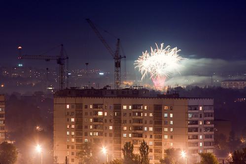 вид на ул.Матюшенко со спуска Веснина ©  Aleksandr Osipov