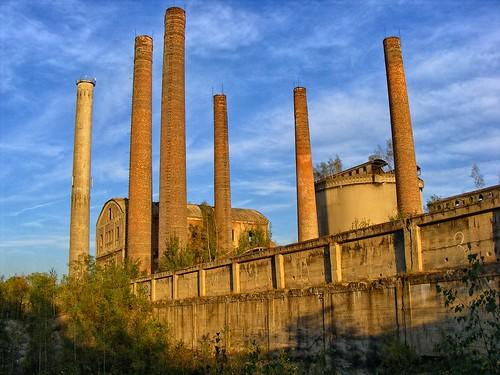 Będzin Grodziec abandoned cement plant
