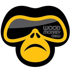 icon_WMCrew (.krayon) Tags: wood mountain bike logo monkey design blog graphic icon crew mtb vector krayon