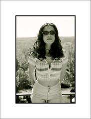 Ana (lababayaga) Tags: madrid blancoynegro ana retrato bn virado