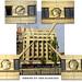 Facade details - building in Bucharest, Romania / Cladire pe Splaiul Independentei, Bucuresti