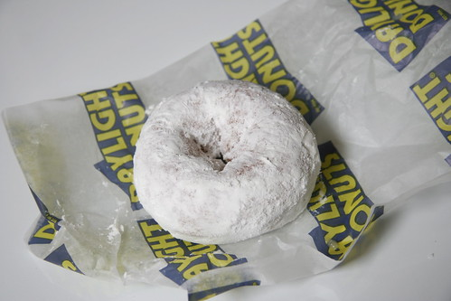 Powdered Sugar Cake Donut - Daylight Donuts